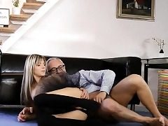 Glam eurobabe booty-fucked in fashionable Three way