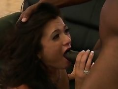 Teenager Cece Stone was not ready for that meaty ebony