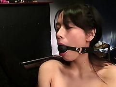 Kinky asian bdsm fetish lovemaking