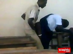 teenager african college girls fucking doggstyle in class