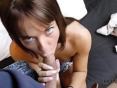 HUNT4K. Buddy nicely romps boy's infatuating gf for..