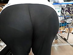 Plus-size pawg gilf seethrew yoga trousers sorry couldn't edit