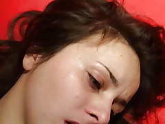 Uber-cute real amateur gravy in mouth Russian very youthful girl